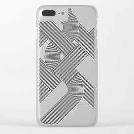 step/snek Clear iPhone Case