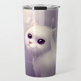 kitten with wings Travel Mug