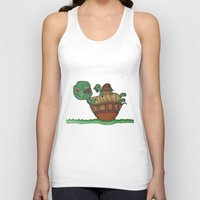 turtles Tank Tops featuring Turtles by BNK Design