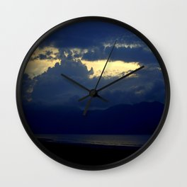 Blues. Wall Clock