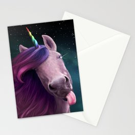Sassy Unicorn Stationery Cards