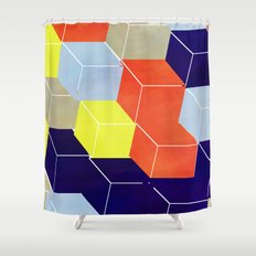 Stacks on Stacks Shower Curtain