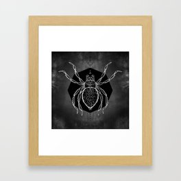 Spider Vignette Framed Art Print