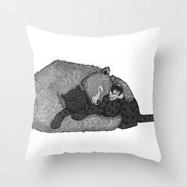 Jungle Book Snuggles Throw Pillow