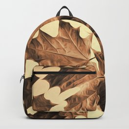 Autumn Sepia Backpack