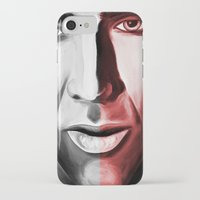 nicolas cage iPhone & iPod Cases featuring Nicolas by ArtChickStudio