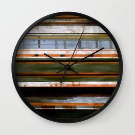 stripes 1 Wall Clock
