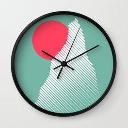 Beautiful Morning Wall Clock