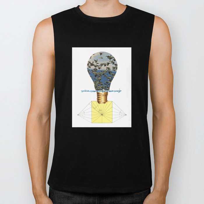 Ideas Come, Ideas Go Biker Tank