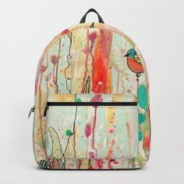 this strange feeling of liberty Backpack