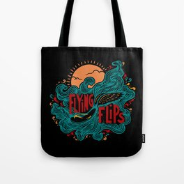 FlyingFlips Tote Bag