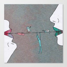 Thin line Canvas Print