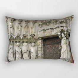 Notre Dame de Paris France Travel Photography Rectangular Pillow