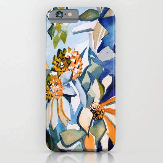 Carnival of Daisies iPhone & iPod Case