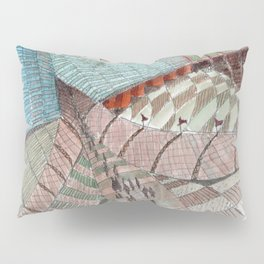 Meandering Landscapes: Welcoming Pathway Pillow Sham