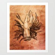 Relic III Art Print