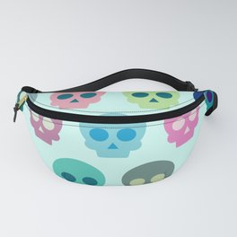 Colorful Skull Cute Pattern Fanny Pack