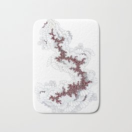 Dragon Modern Abstract Pattern Art Bath Mat