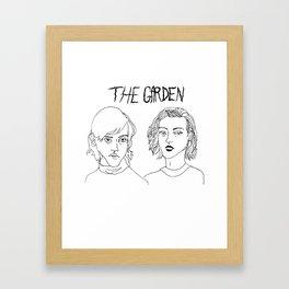 The Garden Band  Framed Art Print