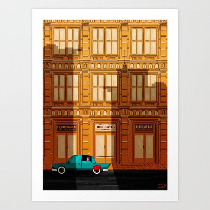 Hey Superhero!! Art Print