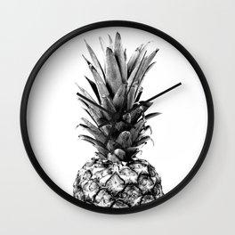 Simply Pineapple Wall Clock