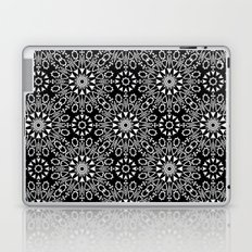 Oriental, ornament, black and white. Laptop & iPad Skin