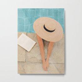On the edge of the Pool II Metal Print