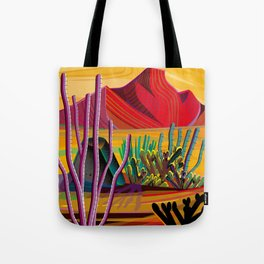Love Mountain Tote Bag