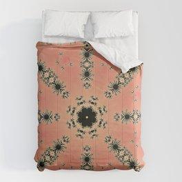 Fractal Dependence Pattern 1 Comforters