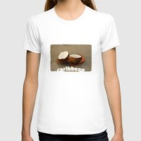 coconut wishes T-shirts featuring Coconut by cinema4design
