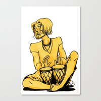 drum Canvas Prints featuring Drum by 1 of Many Laurens
