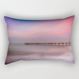 Peaches and Cream Rectangular Pillow