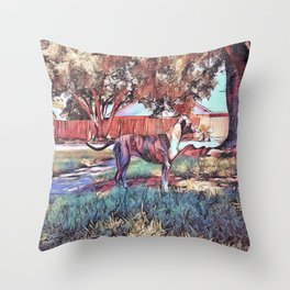 My darling, my dream Throw Pillow