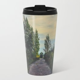 The only way is forward Travel Mug