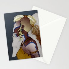 Wolf Warrior Stationery Cards