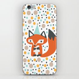 Party Fox iPhone Skin