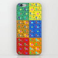 turtles iPhone & iPod Skins featuring turtles by vitamin