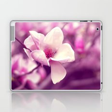 Lonely Flower - Radiant Orchid Laptop & iPad Skin