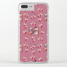 My little owl love. Clear iPhone Case