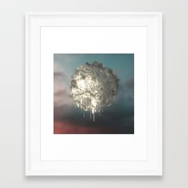 Trapped in the Ice Framed Art Print