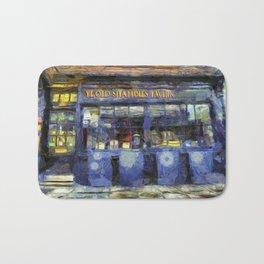 Ye Old Shambles Tavern York Art Bath Mat
