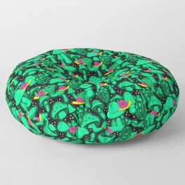 Glow Shrooms Floor Pillow
