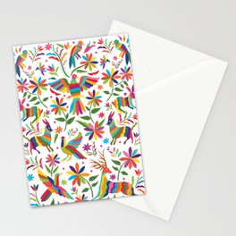 Mexican Otomí Design Stationery Cards