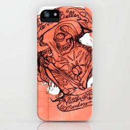 Eterna Belleza iPhone Case