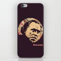 bukowski iPhone & iPod Skins featuring Bukowski by f_e_l_i_x_x