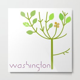 Washington Tree Metal Print