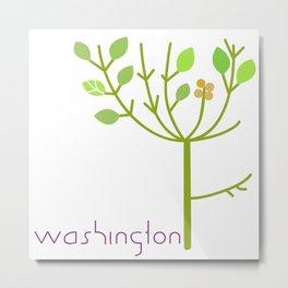 Washington Tree Metal Print