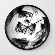 Datadoodle Flowers Wall Clock