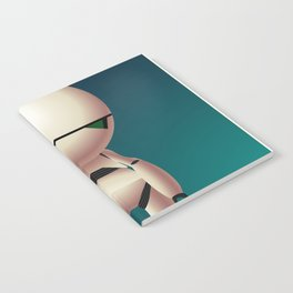 Marvin the Paranoid Android Notebook