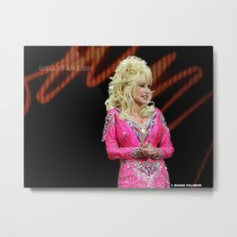Dolly Parton in Gothenburg 8/28/11 Metal Print